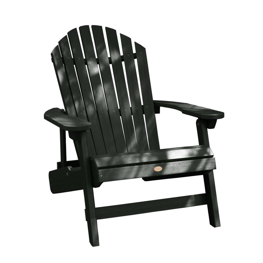 King Hamilton Folding & Reclining Adirondack Chair Charleston Green - Highwood
