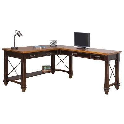 Hartford Open L Shaped Desk - Martin Furniture