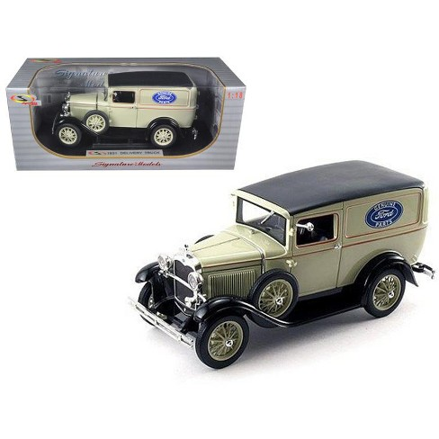 1931 Ford Model A Panel Delivery Truck 1/18 Diecast Model Car by Signature Models - image 1 of 1