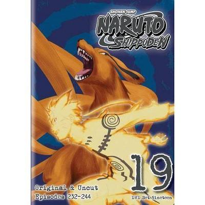 Naruto Shippuden: Box Set 19 (DVD)(2014)