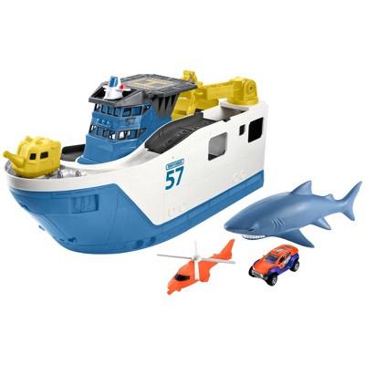 Matchbox Marine Rescue Shark Ship