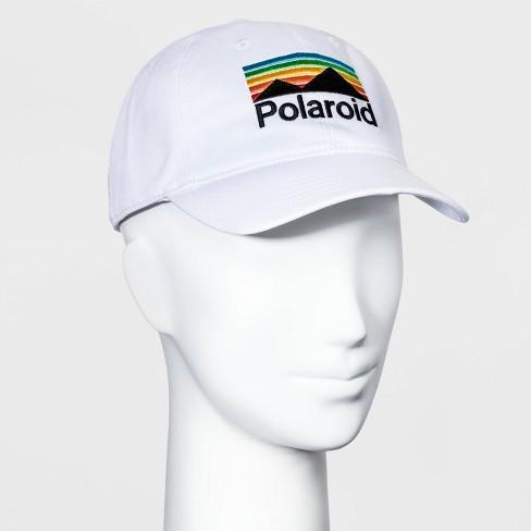 Women's Polaroid Baseball Hat - White One Size - image 1 of 2
