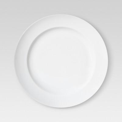 Rimmed Porcelain Salad Plates (8 )White - Set of 4 - Threshold™
