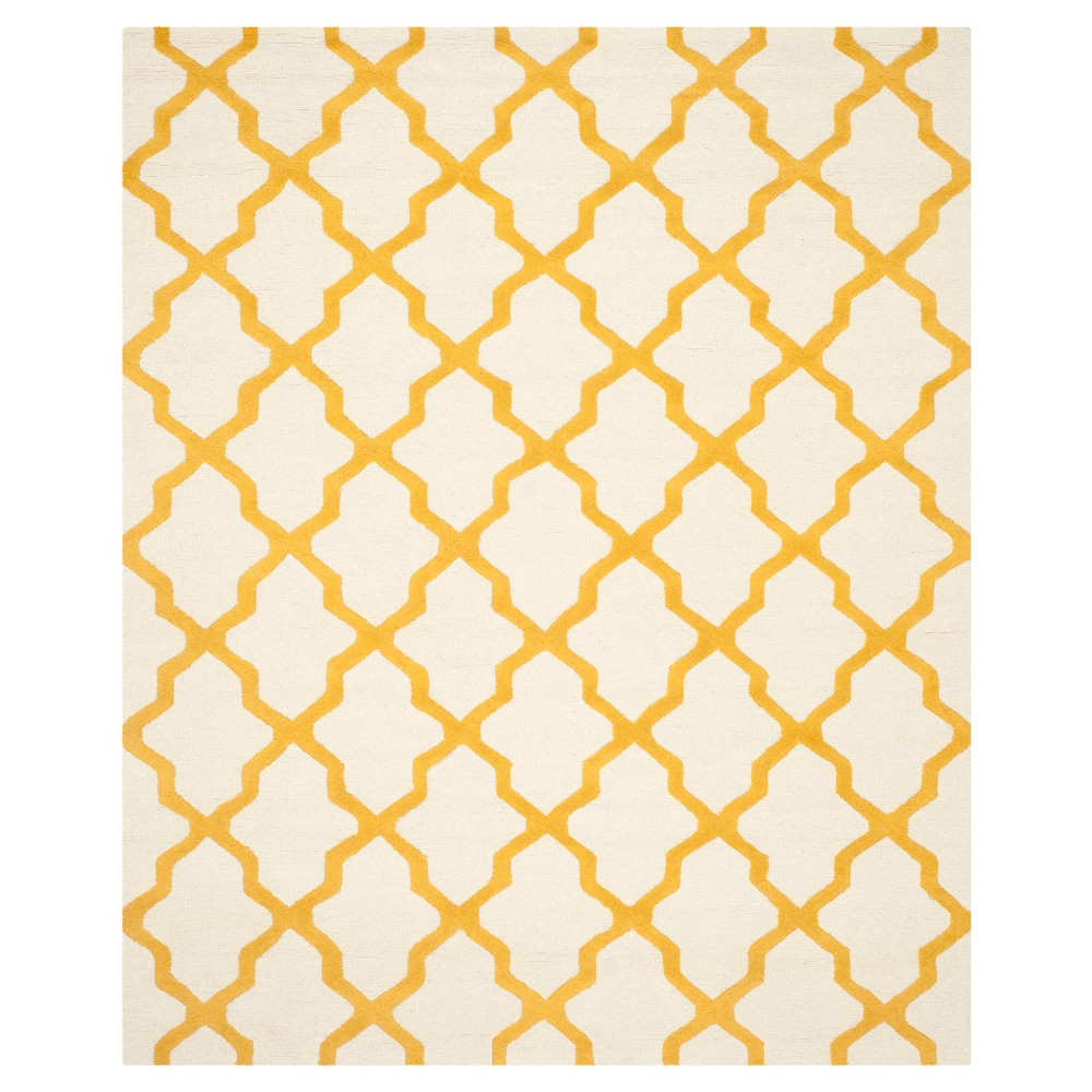Maison Textured Rug - Ivory / Gold (10'X14') - Safavieh, Ivory/Gold