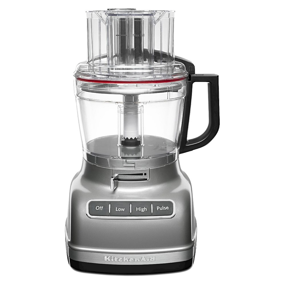 KitchenAid 11 Cup Food Processor with ExactSlice System – KFP1133, Contour Silver 15744916