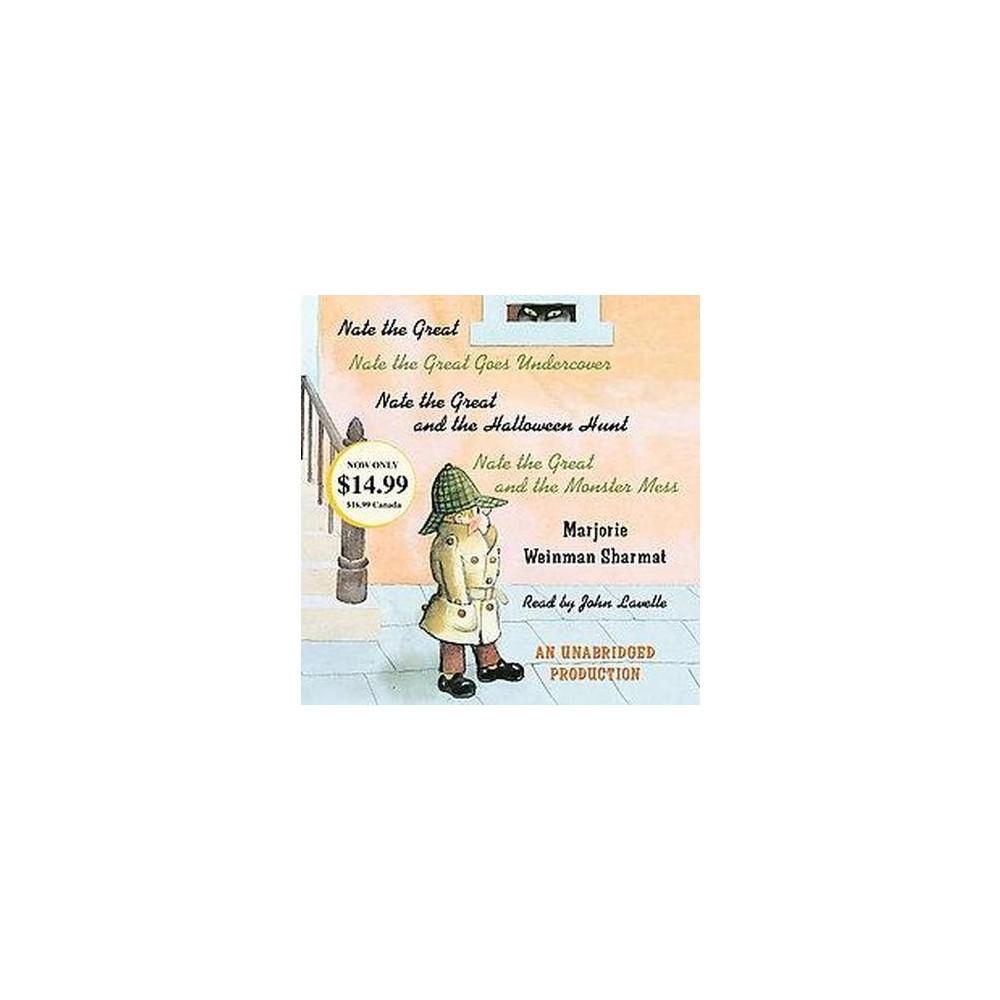 Nate the Great Collected Stories (Unabridged) (CD/Spoken Word) (Marjorie Weinman Sharmat)