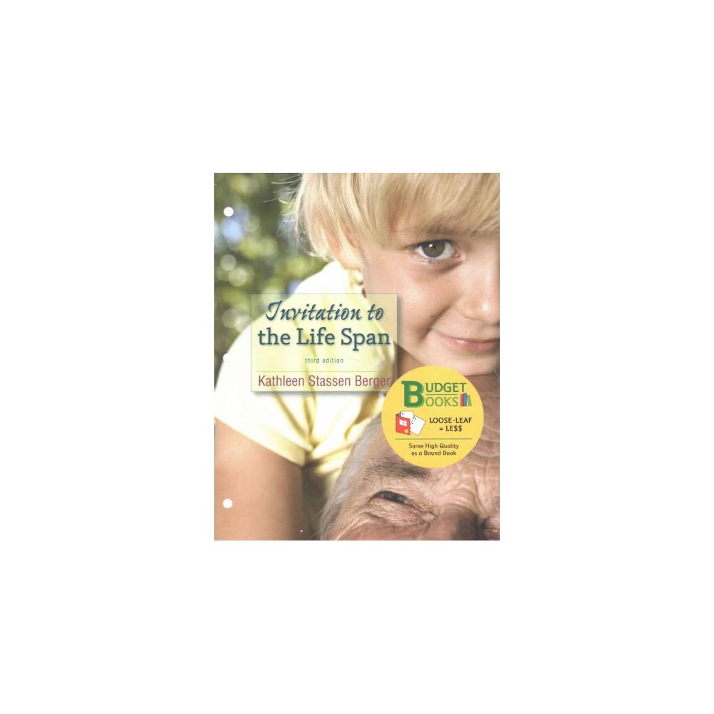 Invitation to the Life Span (Paperback) (Kathleen Stassen Berger)