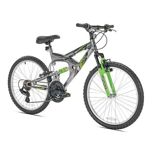 "Northwoods Men's Z245 21 speed, 24"" Mountain Bike – Silver - image 1 of 1"