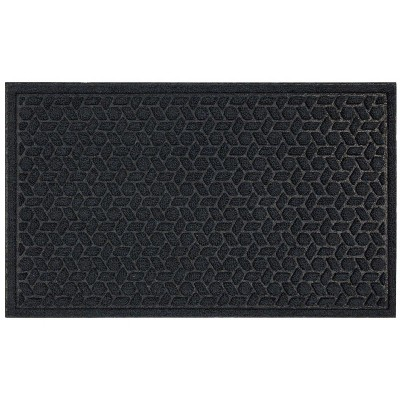 1'6 X2'6  Solid Tufted Doormats Navy - Mohawk