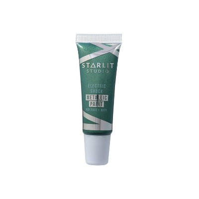 Starlit Studio Electric Shock Metallic Art Paint - Emerald - 0.34 fl oz
