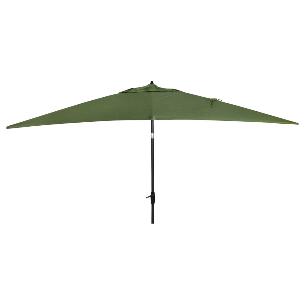 10 39 X 10 39 Rectangular Patio Umbrella Duraseason Fabric 8482 Lawn Threshold 8482