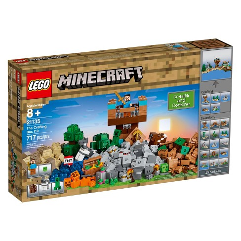 Lego Minecraft The Crafting Box 2 0 With Stev Target
