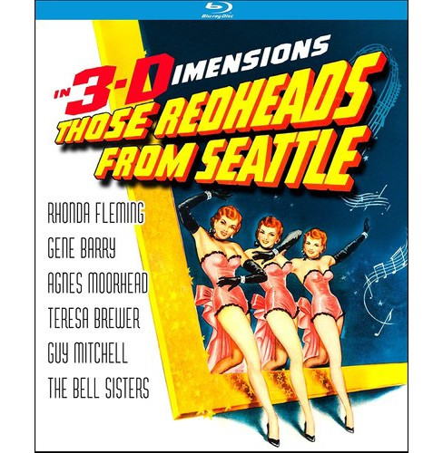Those Redheads From Seattle 3d (Blu-ray) - image 1 of 1