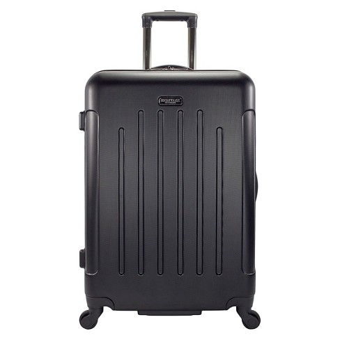 "Heritage Lincoln Park Lightweight ABS 4 Wheel Suitcase - Black (29"" ) - image 1 of 5"