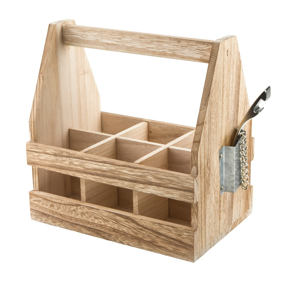 Image of Home Mixology Beer Caddy, Natural