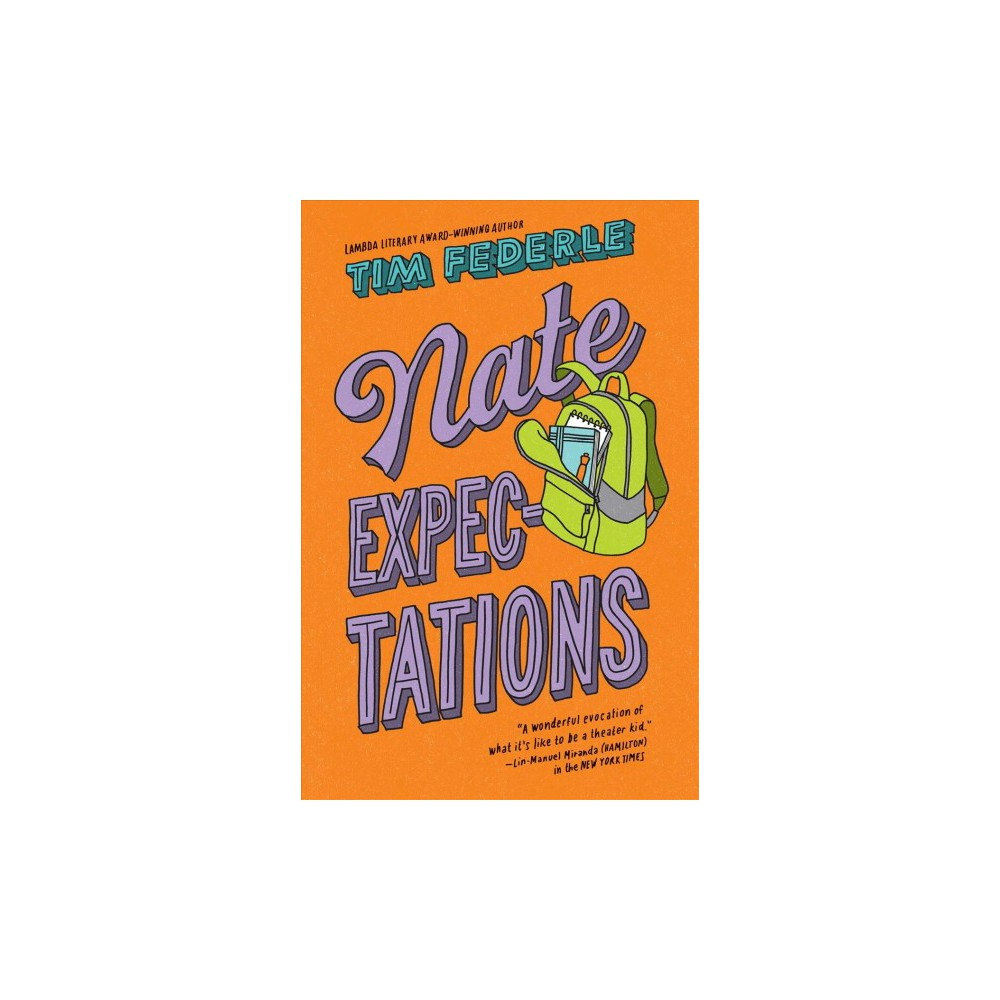 Nate Expectations - (Nate) by Tim Federle (Hardcover)
