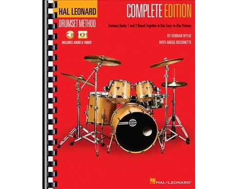 Hal Leonard Drumset Method : Complete Edition with Video and Audio -  Combined (Paperback) - image 1 of 1