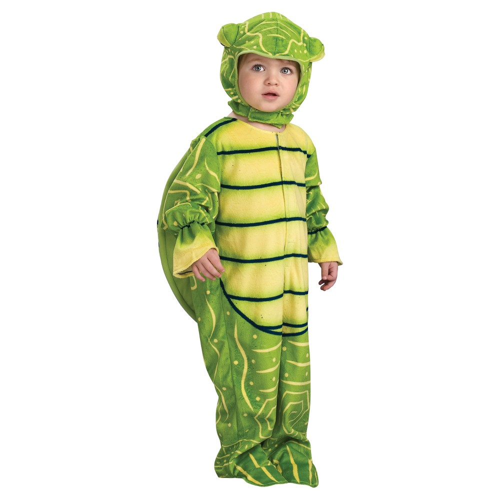 Boys' Little Turtle Toddler Costume, Size: 2T-4T, Multicolored