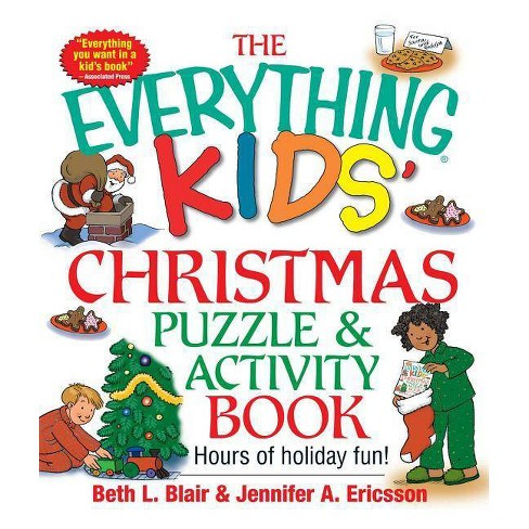 The Everything Kids' Christmas Puzzle and Activity Book - (Everything(r) Kids) (Paperback) - image 1 of 1