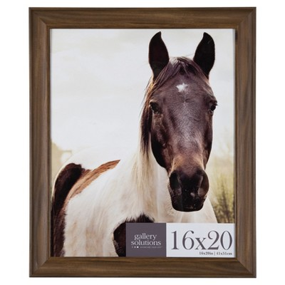 16X20 Walnut Large Wall Frame - Gallery Perfect