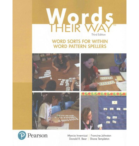 Word Sorts for Within Word Pattern Spellers (Paperback) (Marcia Invernizzi & Francine Johnston & Donald - image 1 of 1