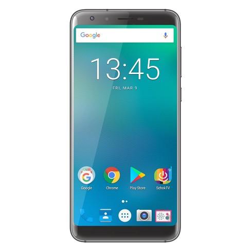 Schok (GSM Unlocked) Freedom Turbo XL 16GB Smartphone - Black - image 1 of 3