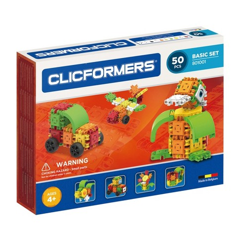 Clicformers Basic Building Set - 50pc - image 1 of 10