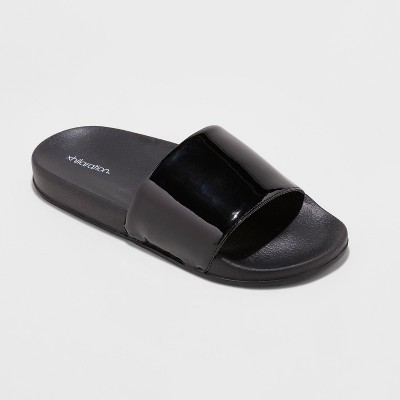 f9d5008388e2 Women s Misty Slide Sandal – Xhilaration™ Black 8 – Target Inventory ...