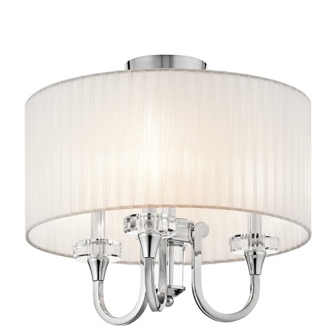 Kichler 42630 Parker Point 3 Light Semi-Flush Indoor Ceiling Fixture - image 1 of 1