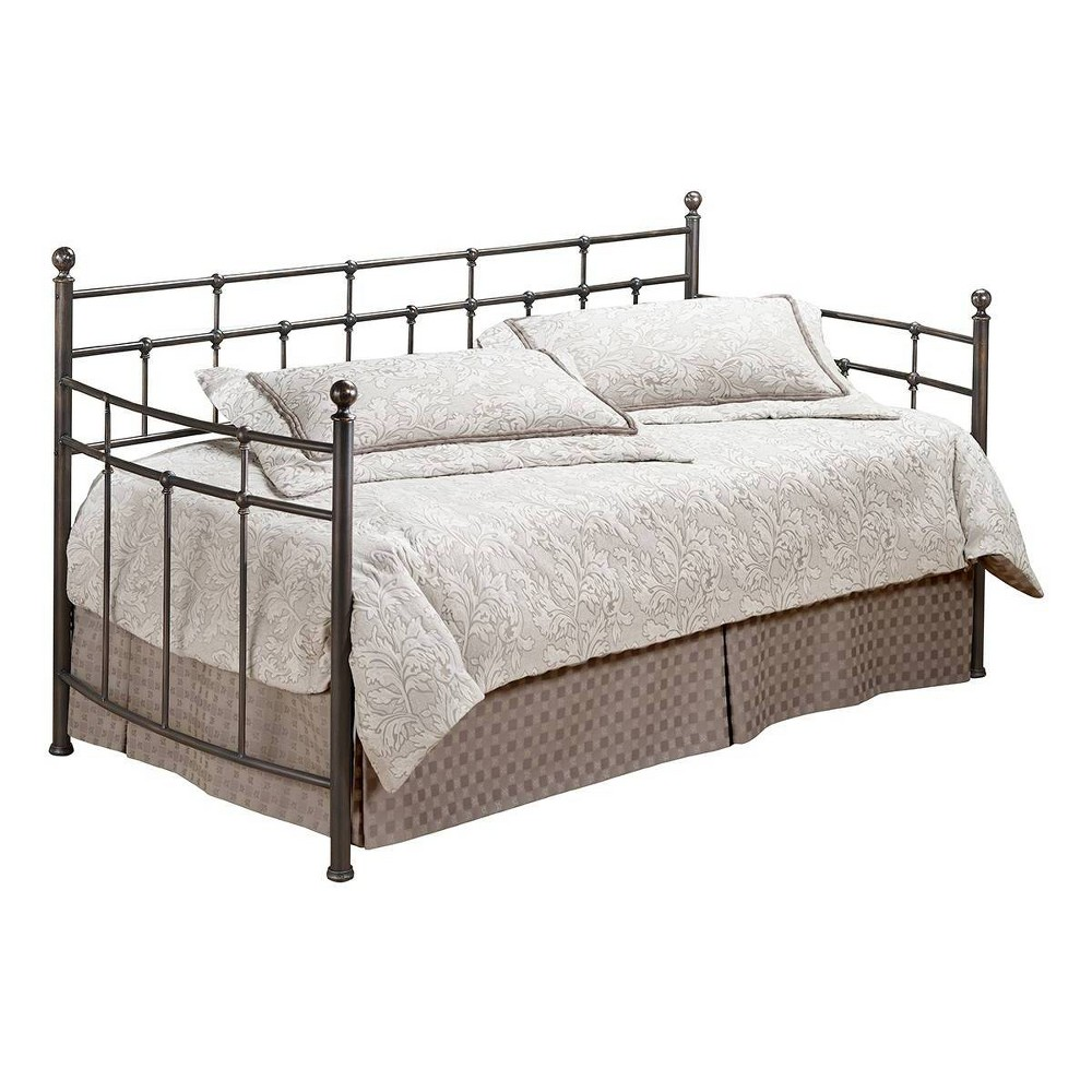 Providence Daybed with Suspension Deck Antique Bronze Hillsdale Furniture