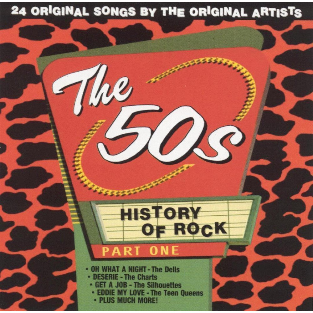 Various - History Of Rock:50's Vol 1 (CD)