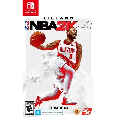 NBA 2K21 - Nintendo Switch (Digital)