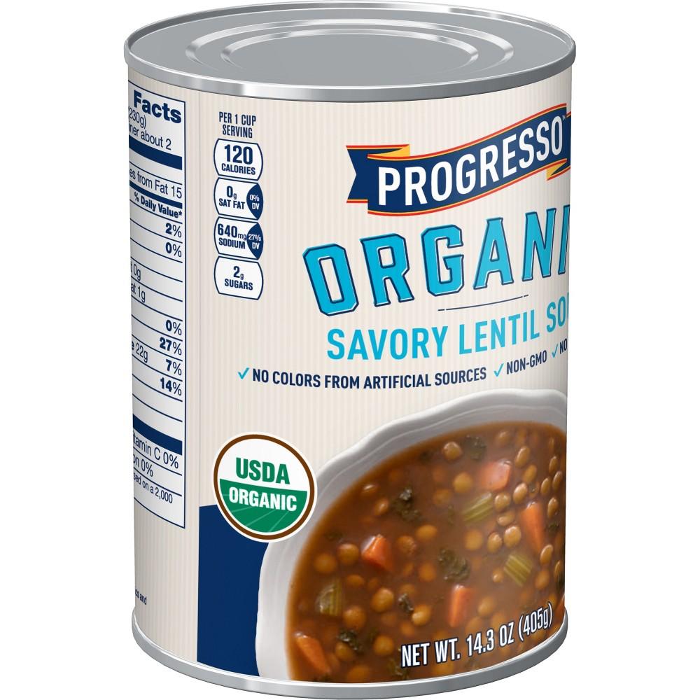 Progresso Organic Savory Lentil Soup 14.3 oz