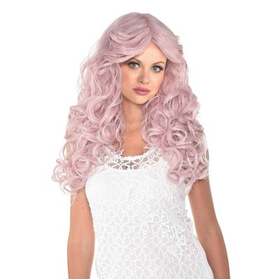 Dusty Rose Halloween Costume Wig