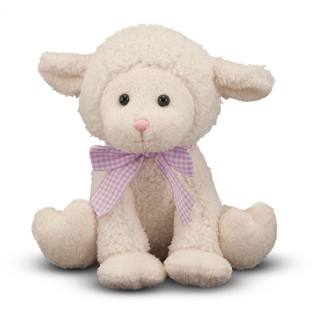 Melissa & Doug Meadow Medley Lamby - Stuffed Animal Baby Lamb