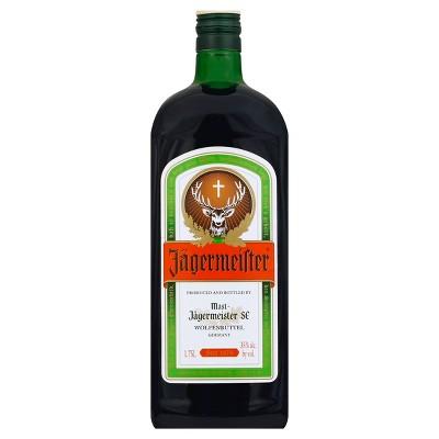 Jagermeister Cordial Liqueur - 1.75L Bottle