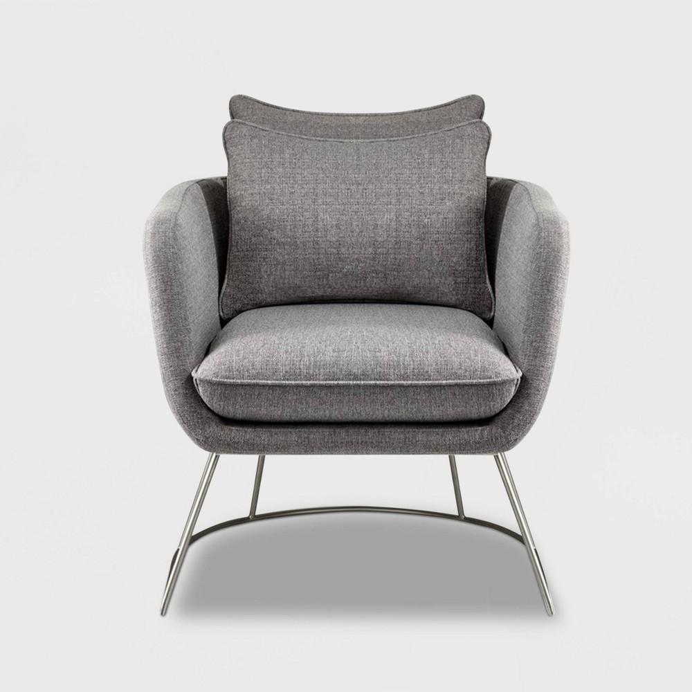 Stanley Chair Light Gray - Adesso