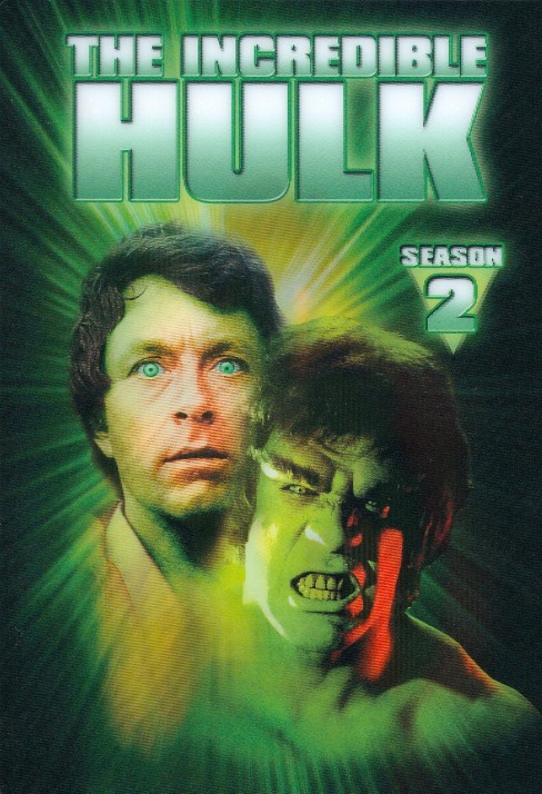 The Incredible Hulk: The Complete Second Season (5 Discs) (Repackaged) (dvd_video) - image 1 of 1