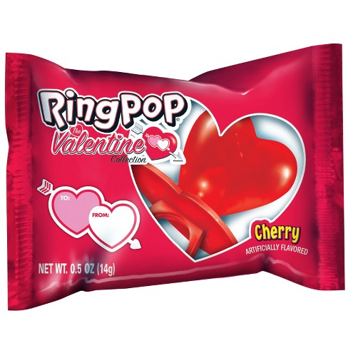 Ring Pop Valentine S Day Candy 8 8oz Target