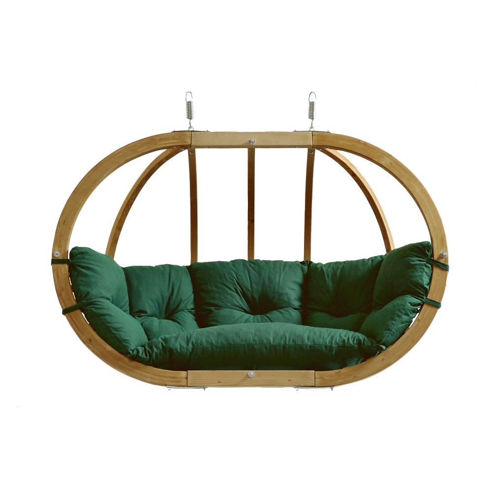 Image of Globo Double Patio Swing Forest Green - Byer of Maine