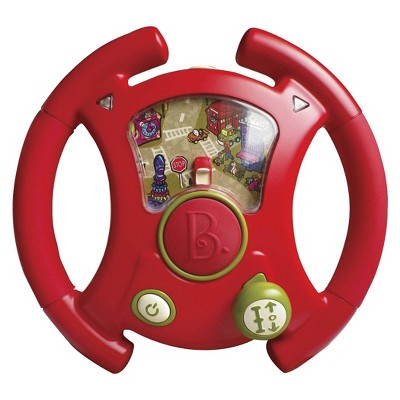 B. toys Toy Steering Wheel YouTurns - Lights & Sounds