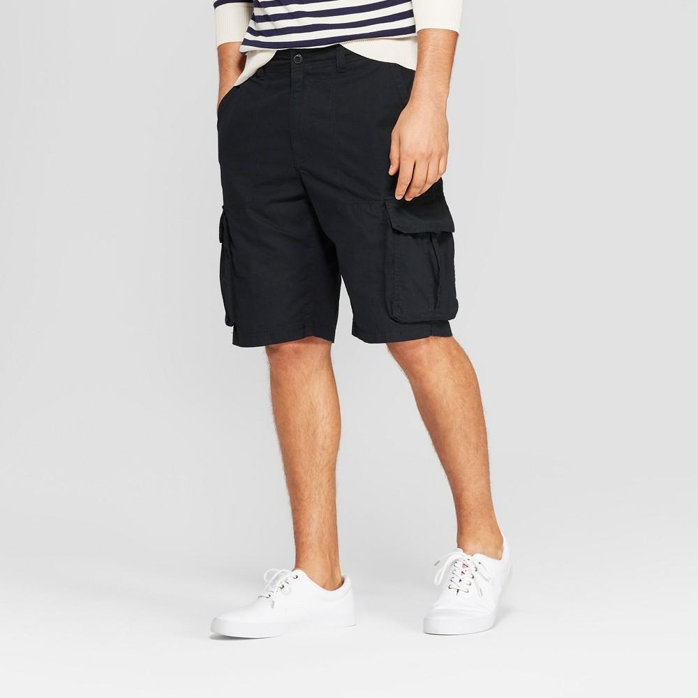 Men's 11 Cargo Shorts - Goodfellow & Co Black 30