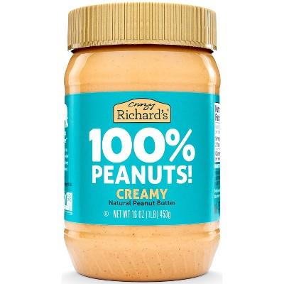 Crazy Richard's Natural Peanut Butter