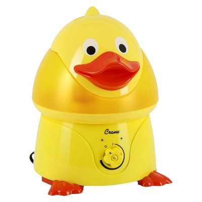 Crane Adorable Duck Ultrasonic Cool Mist Humidifier - 1gal