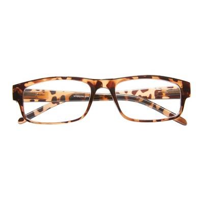 ICU Eyewear Wink Highland Tortoise Rectangle Reading Glasses