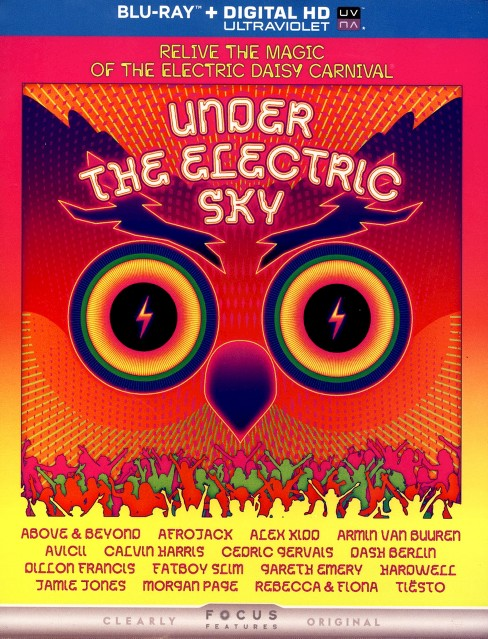 Under The Electric Sky (Blu-ray) - image 1 of 1