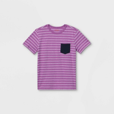 Boys' Short Sleeve Pocket T-Shirt - Cat & Jack™