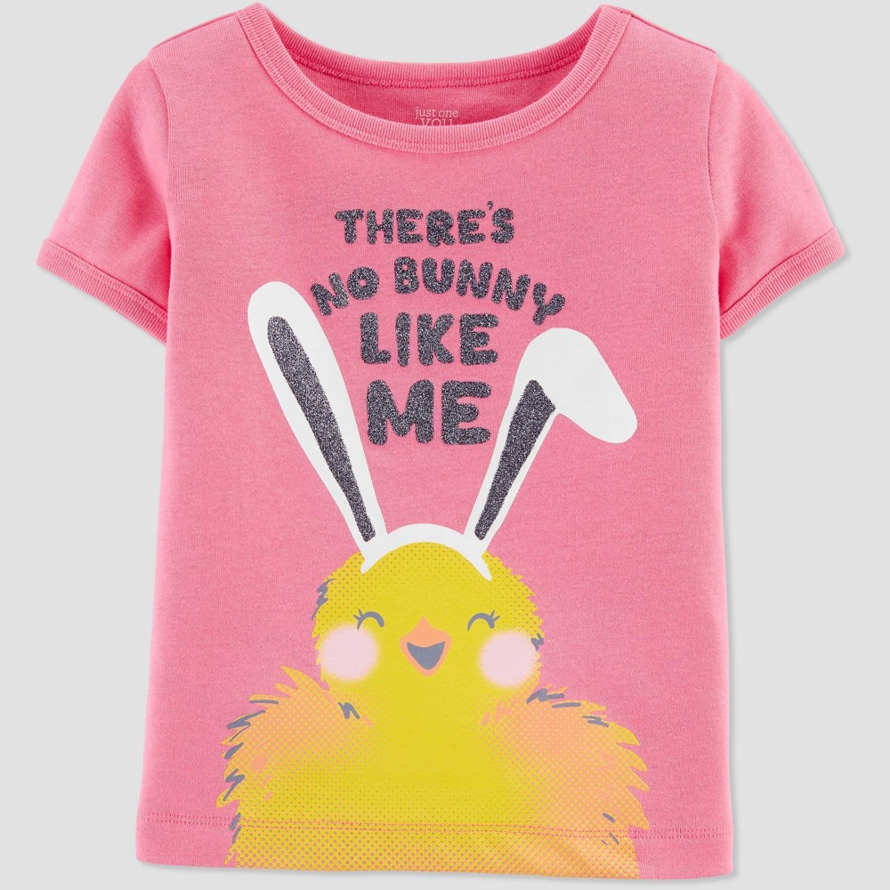 Image of Baby Girls' 'There's No Bunny Like Me' T-Shirt - Just One You made by carter's Pink 18M, Girl's