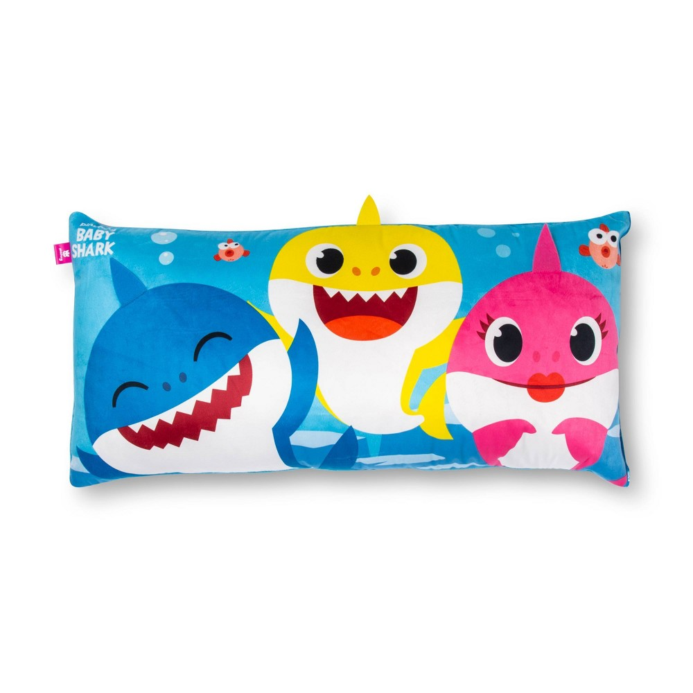 Image of Pinkfong Baby Shark Close Family Body Pillow