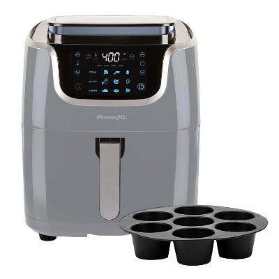 PowerXL 7-qt 10-in-1 1700W Air Fryer Steamer with Muffin Pan